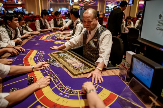 Giochi da tavolo cinesi al Casino