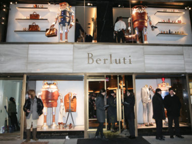 Berluti flagship store Madison Avenue, New York, USA