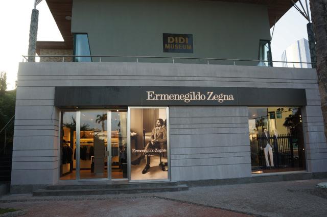 Emenegildo Zegna flagship Lagos