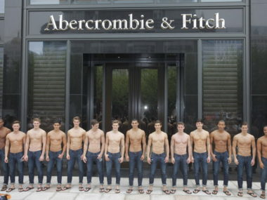 Abercrombie & Fitch, Shanghai, West Nanjing Road
