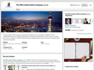 Ritz-Carlton Linkedin