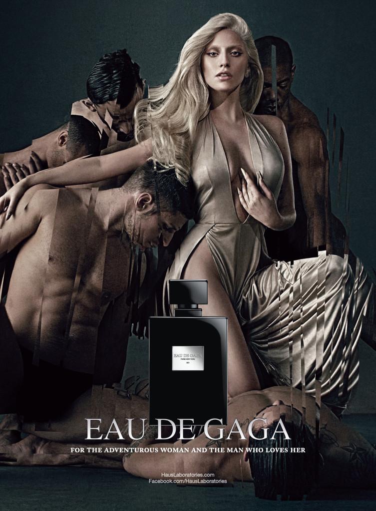 Eau de-Gaga Ad visual