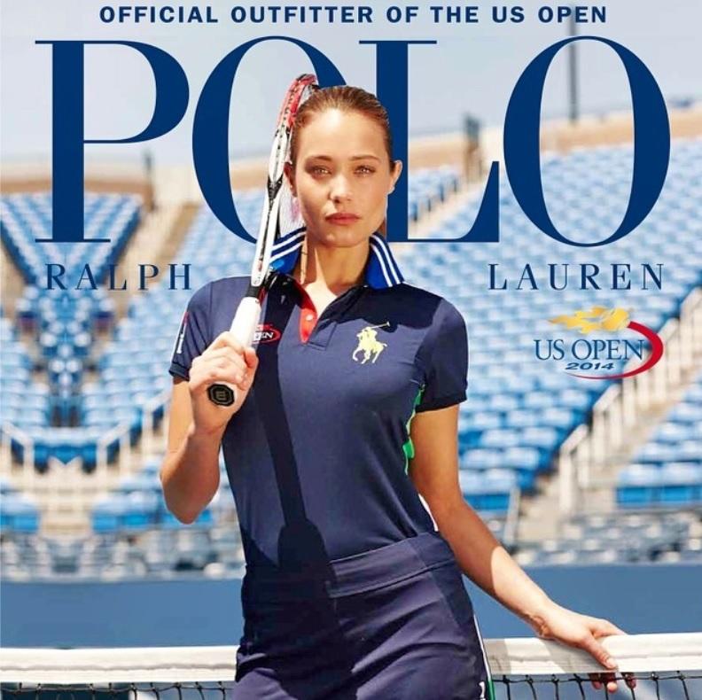 Hannah Davis testimonial Polo Ralph Lauren Us Open 2014