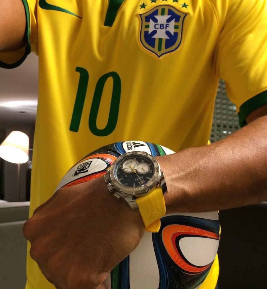 Parmigiani Fleurier dal 2011 sponsor della nazionale calcio Brasiliana