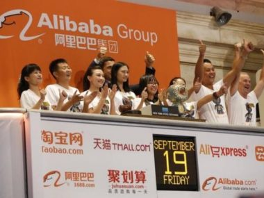 Alibaba Nasdaq