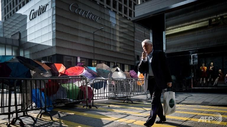 Cartier, Hong Kong, proteste