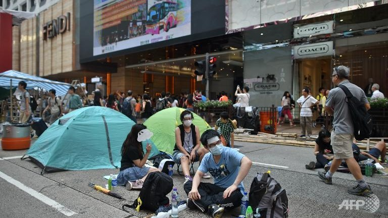 Cartier, Hong Kong, proteste