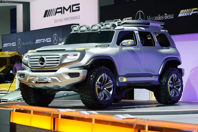 Mercedes Los Angeles auto show 2013