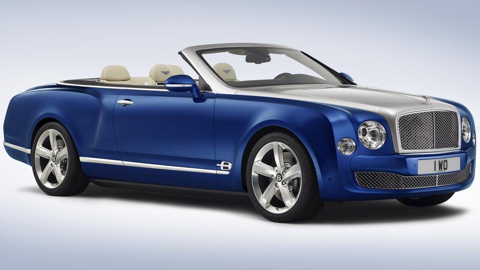 Bentley Grand convertible lato LA