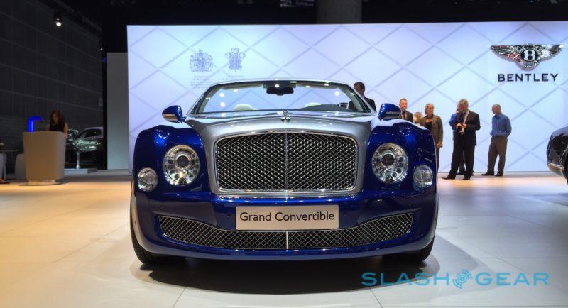 Bentley Grand Convertible Los Angeles Auto Show