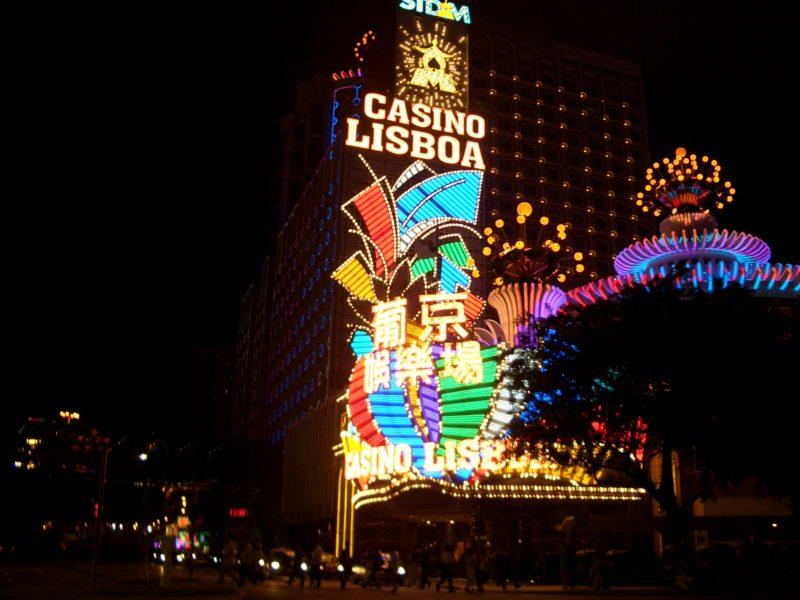 Macao Lisboa casino Cotai strip