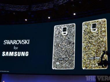 Samsung Swarovski partnership