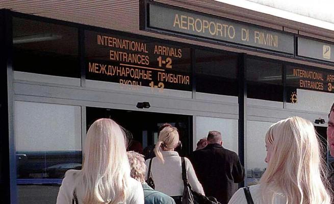 Turisti Russi all'Aeroporto Fellini Rimini