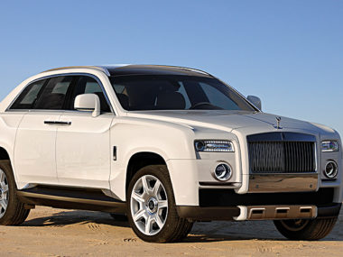 Rolls Royce progetto SUV