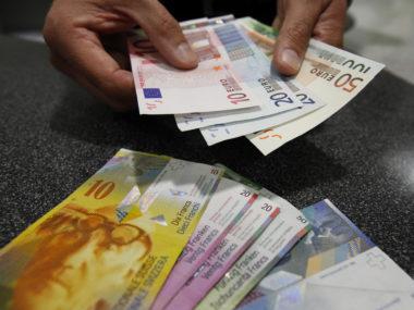 Franco Svizzero Euro Svizzera