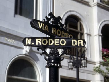 Rodeo Drive, Los Angeles, retail
