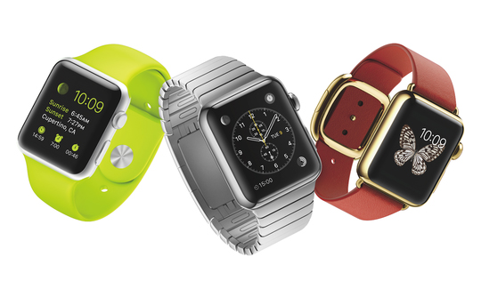 Apple Watch disponibile in piu' versioni
