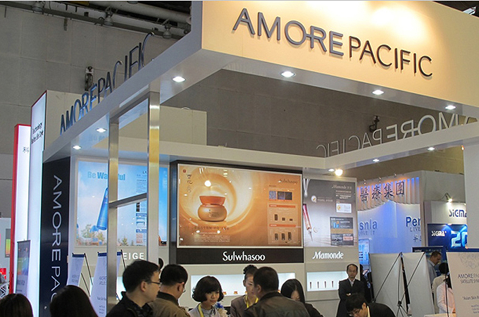 Stand Amore Pacific China Dermatologist Association Convention