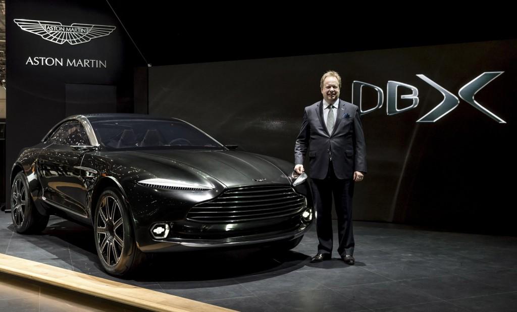 Presentazione Aston Martin prototipo suv BDX
