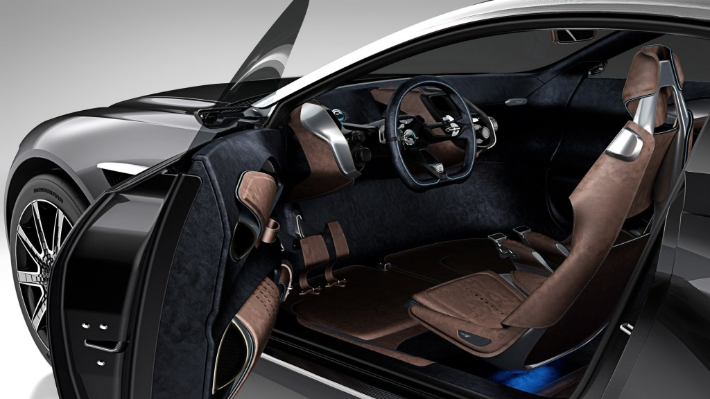 Aston Martin DBX rendering interni