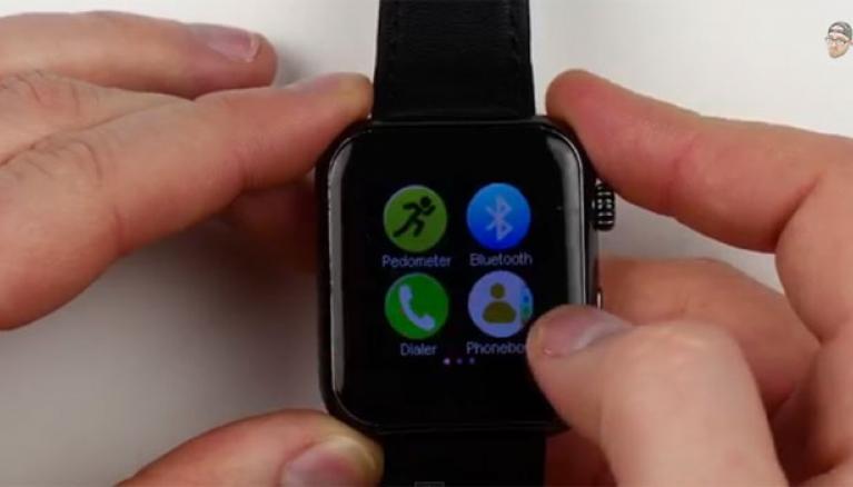 Falso Apple watch commercializzato su Taobao