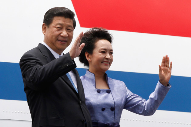 Presidente Xi Jinping e first lady