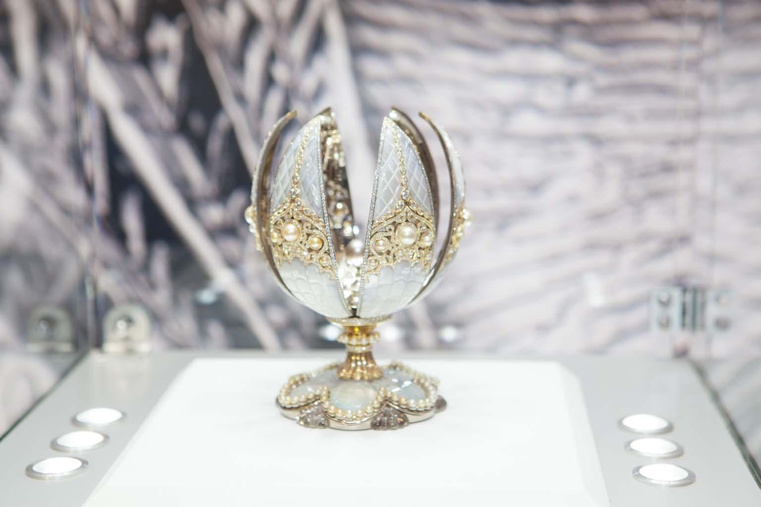 Faberge Pearl Egg