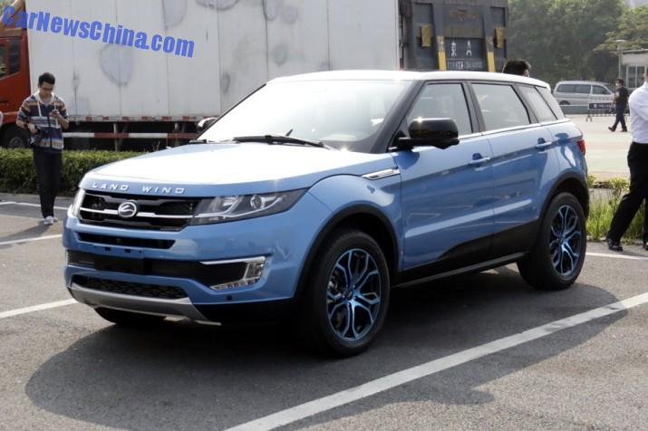Landwind x7 Clone cinese Range Rover Evoque