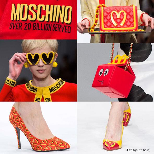 Moschino e McDonalds FW14