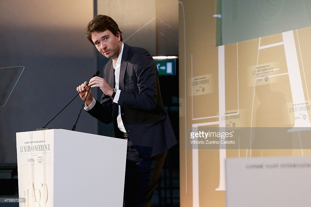 Antoine Arnault sull'e-commerce a Conde Nast Luxury Conceference Firenze