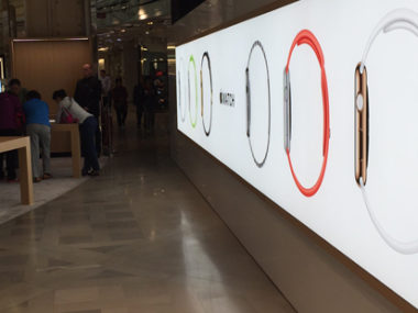 apple watch galeries lafayette Parigi