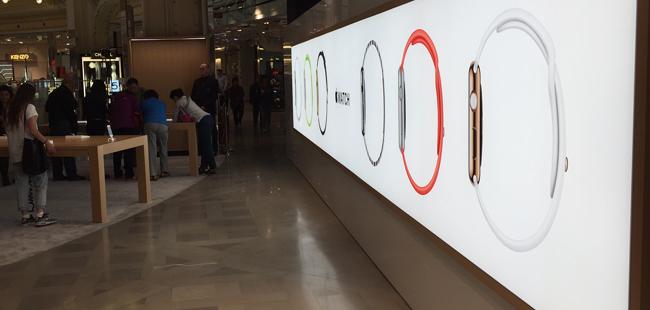apple watch galeries lafayette Parigi