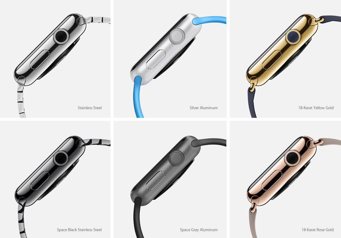 Apple Watch 96 varianti combinazioni