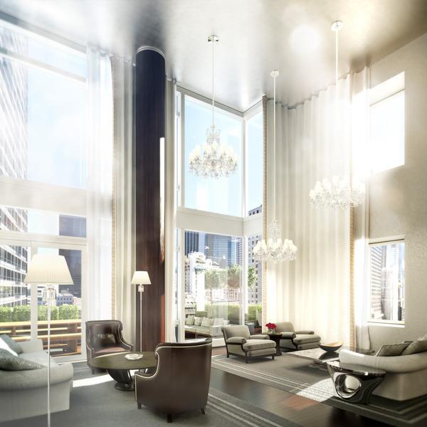 Baccarat hotel New York Gilles & Boissier interni