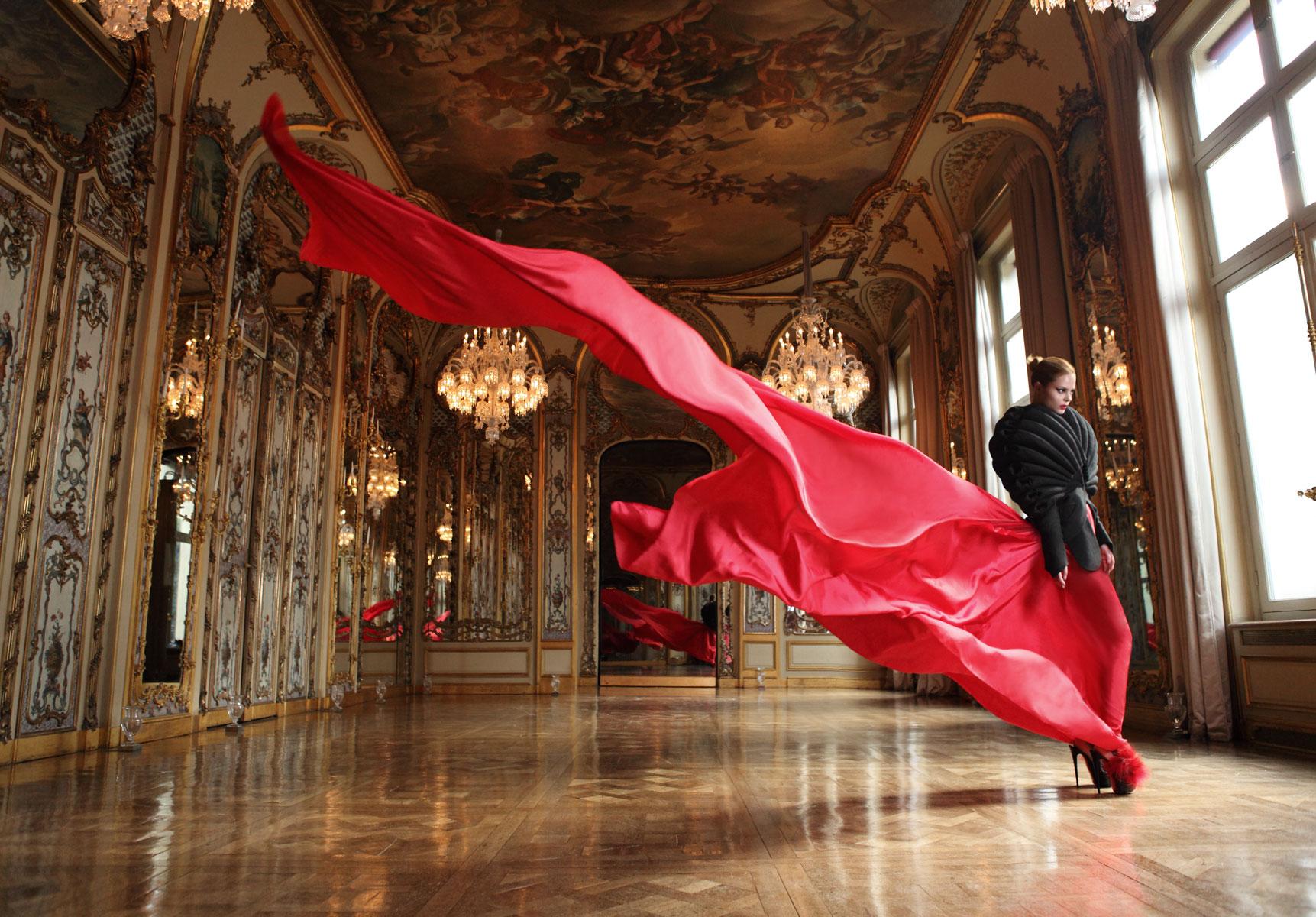 Cristalli Baccarat alla Gallerie des Glaces Versailles