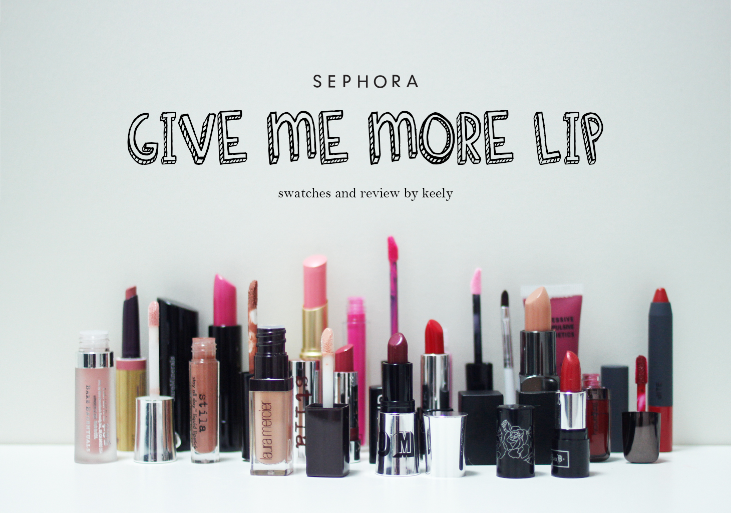 Give Me More Lip campagna Sephora USA