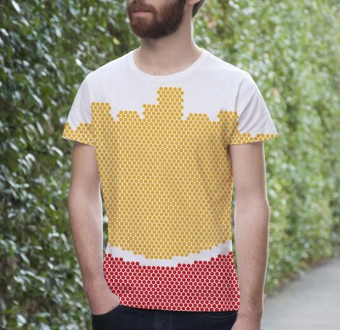 T-shirt McDonalds by Colette