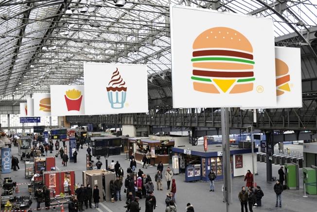 Campagna pubblicitaria McDonalds TBWA Paris