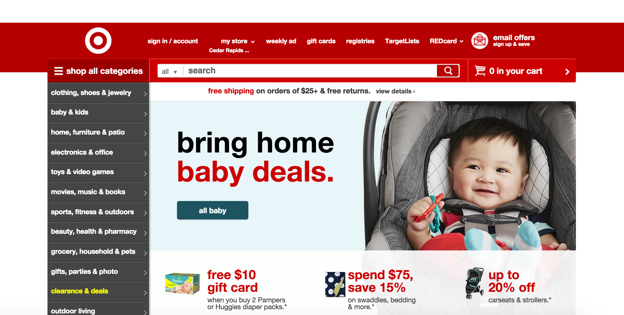 Target.com e-commerce soffre la concorrenza Amazon Prime
