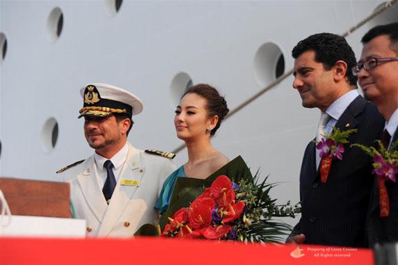 Costa Crociere cerimonia a Tianjin