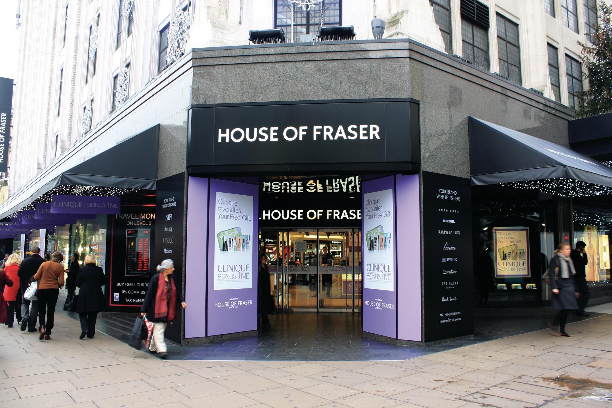 House of Fraser store Glasgow