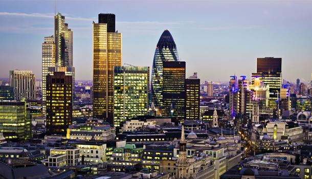 Londra shard vista immobiliare