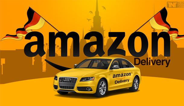 amazon dhl audi delivery service