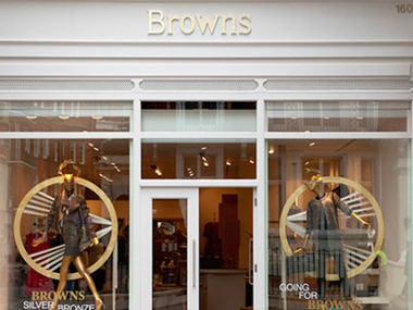 Browns acquisito da Farfetch londra