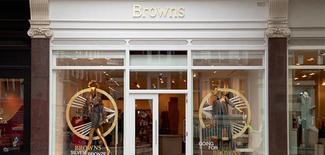 Browns acquisito da Farfetch londra