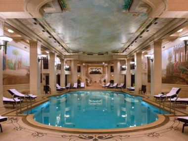 Chanel spa ritz hotel parigi