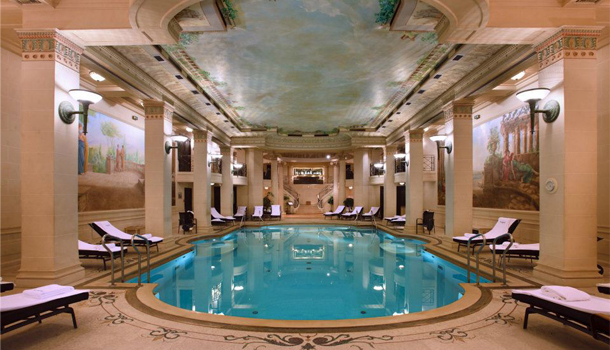 Chanel spa ritz hotel parigi