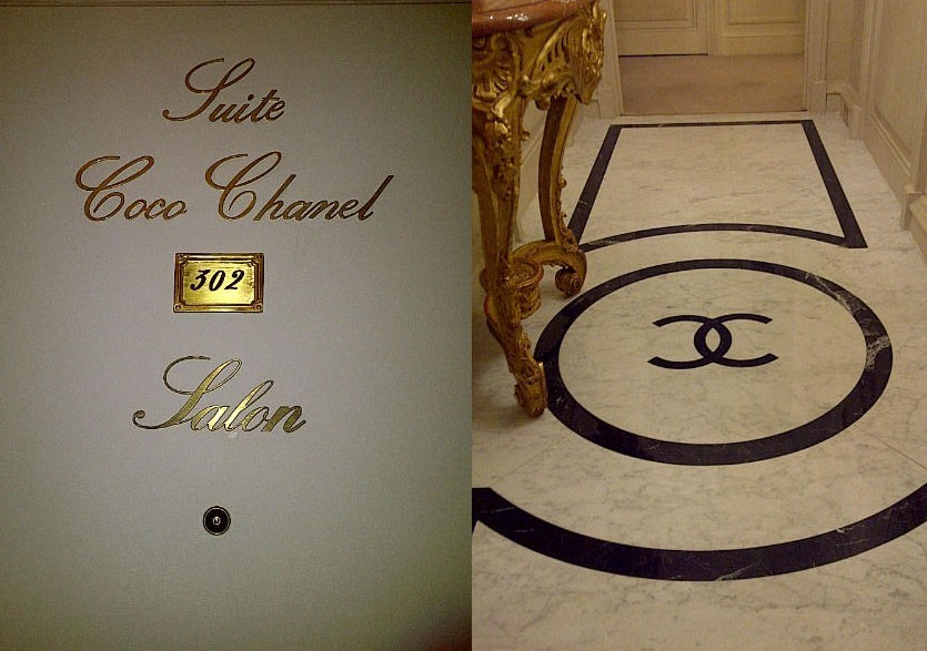 La suite dedicata A Coco Chanel Ritz Paris