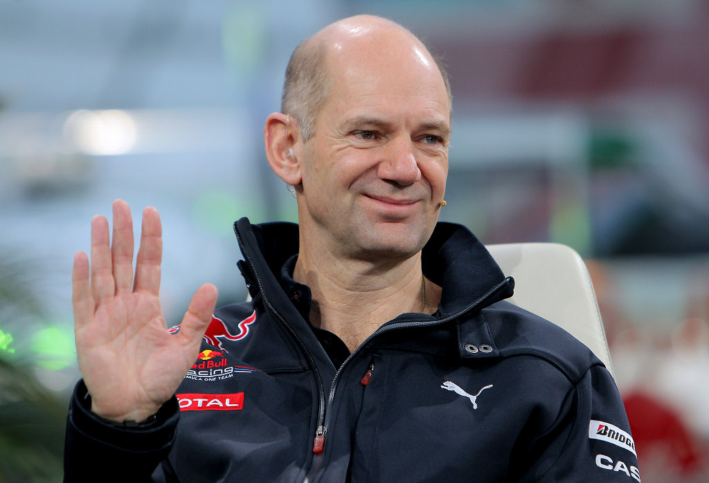 Adrian Newey Team Manager Red Bull Formula 1
