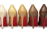 Christian Louboutin Pump Nude multicolor: risposta al razzismo nella moda